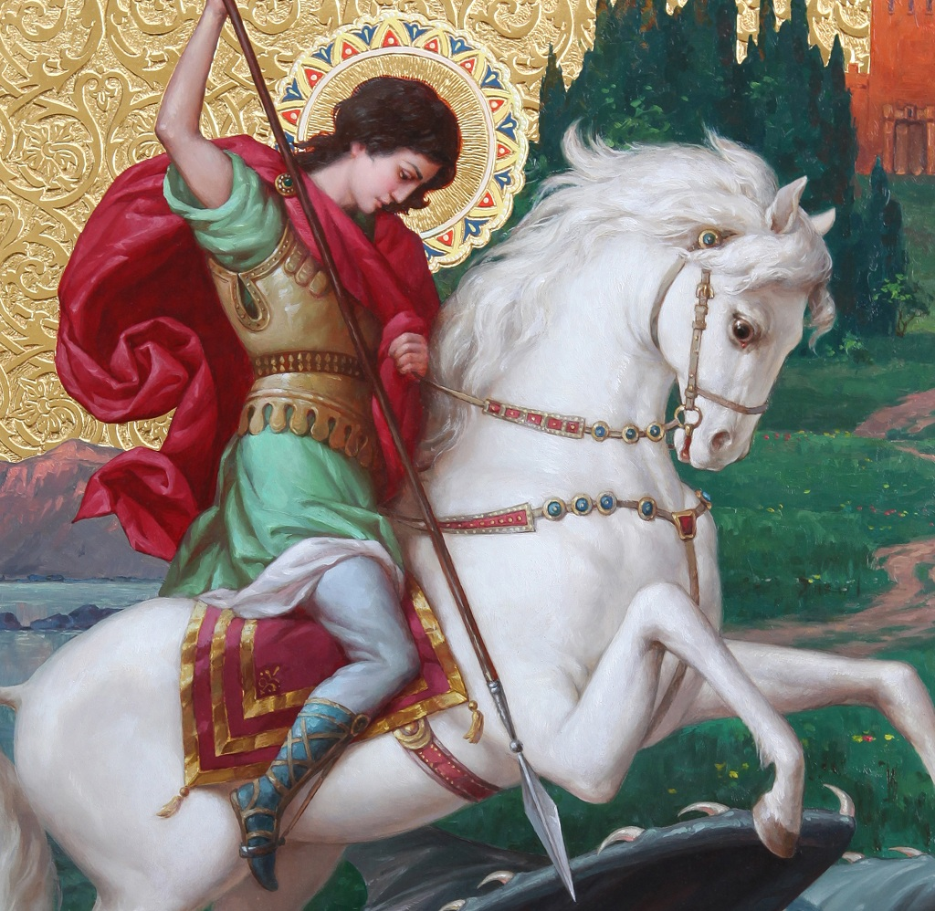 St. George the Victorious (fragment)